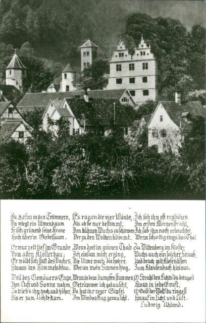 Ansichtskarte Hirsau Schwarzwald  (Nr.9004)