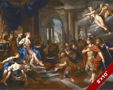 DIDO & AENEAS AENEID FANTASY MYTH MYTHOLOGY ART PAINTING REAL CANVAS PRINT