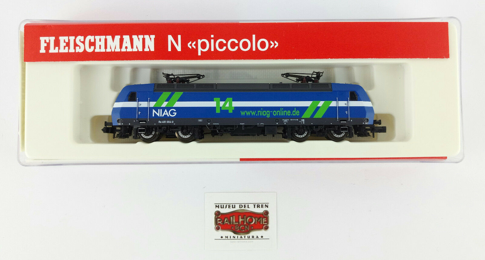 フリーランサーN 7323 02 - E - LOK BR RH 481 Niag - OVP -トップ