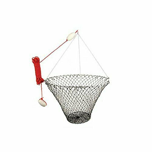 American  Maple Crab & Pier Net 32In Upper Ring   12In Lower Ring  2 Floats 100Ft  deals sale