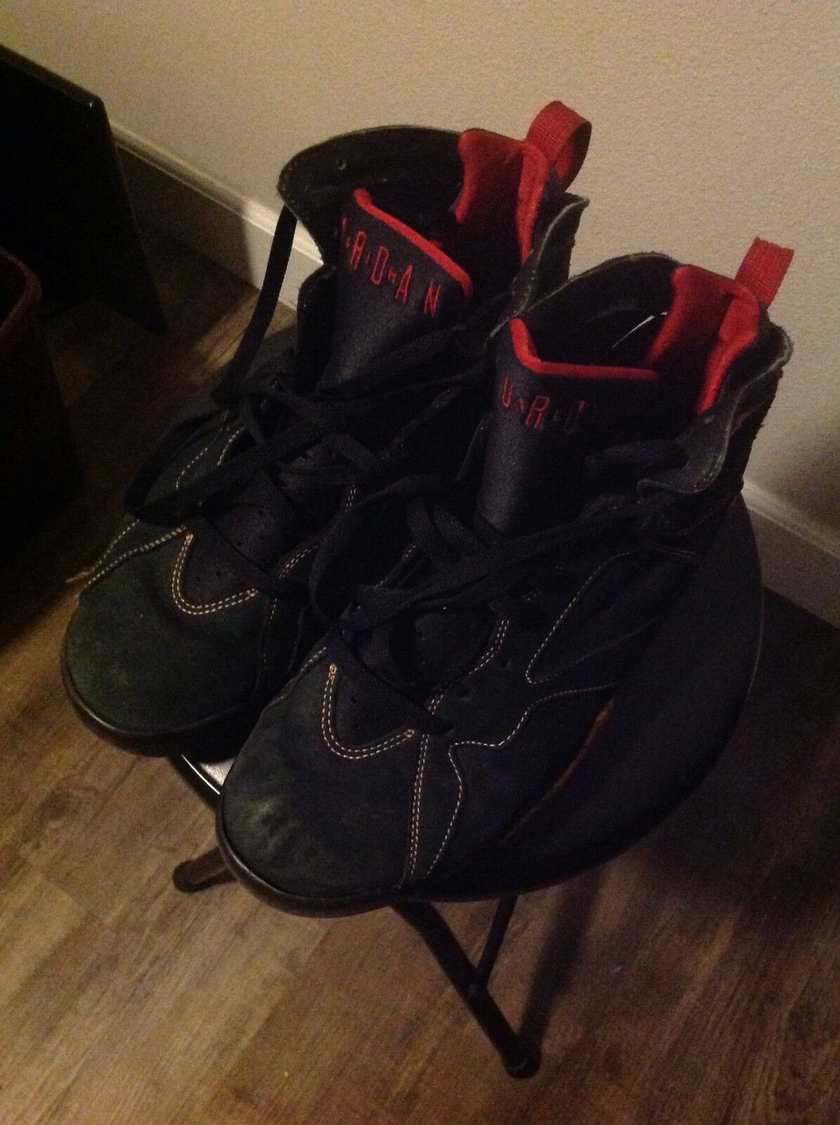 Casual wild VERY USED Jordan 7 Black Citrus 2006 11