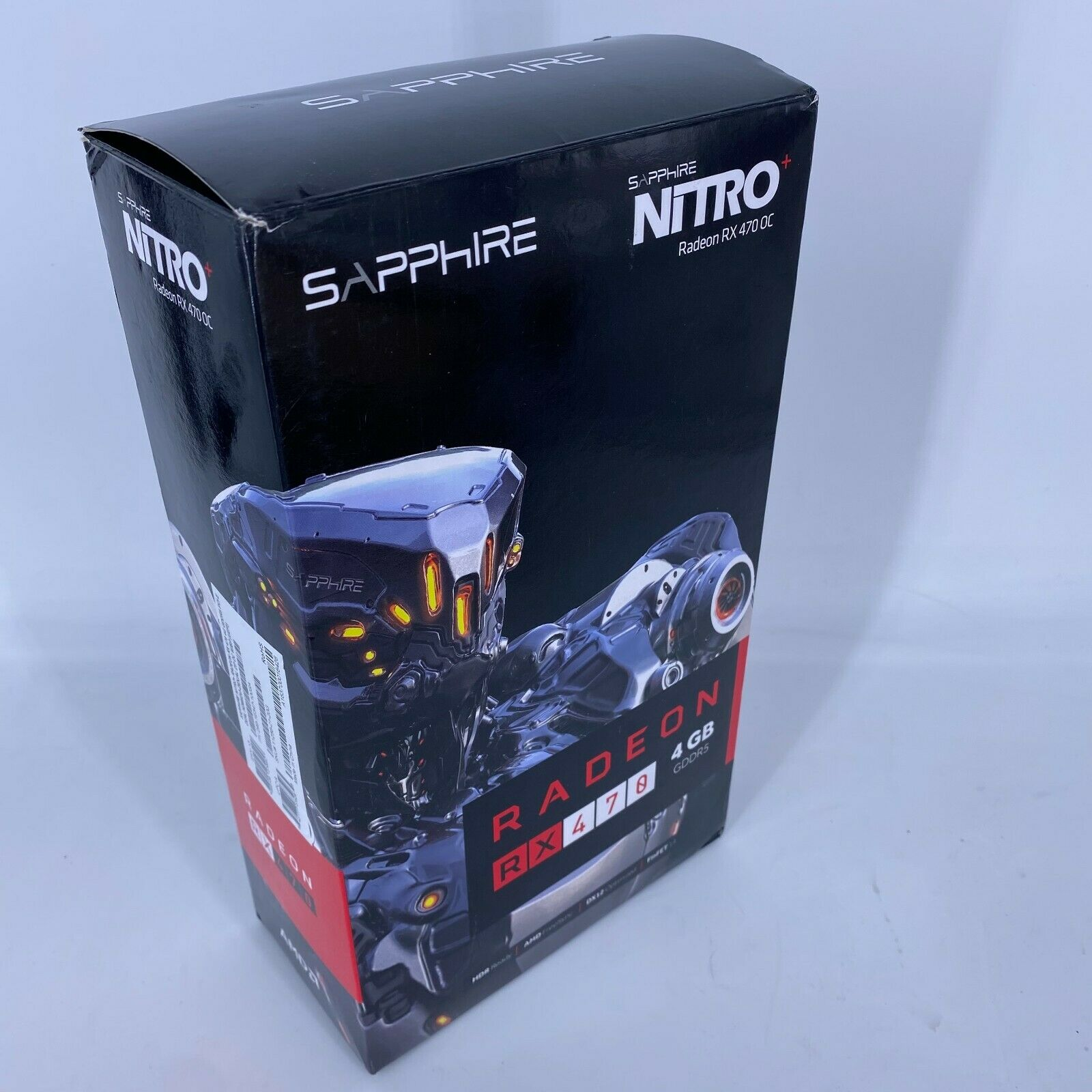 *EMPTY BOX* for - Sapphire RX470 RX 470 4Gb 4 GB Radeon * NO GPU *