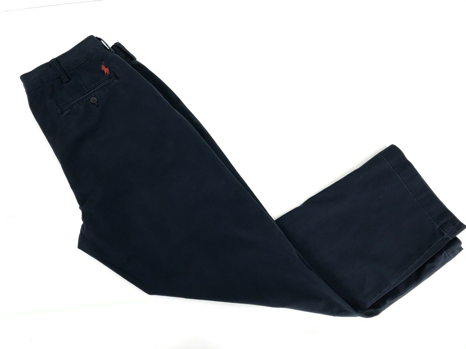 Polo Ralph Lauren Mens 36 30 Navy bluee Casual Pants X-46