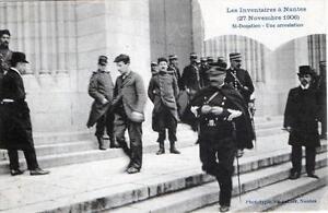 CPA 44 NANTES LES INVENTAIRES 27 NOV 1906 ST DONATIEN UNE ARRESTATION (GROS PLAN