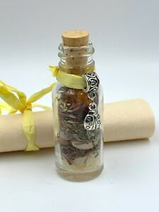 Old-Witch-Secret-GET-THE-JOB-Bottle-Spell-Wicca-Hoodoo-Santeria