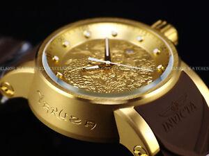 d413e1314be Invicta Men s S1 Yakuza Dragon 24J Automatic 18K Matte Gold IP Brown ...