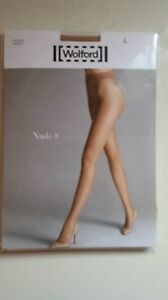 51abfa13dc7 Image is loading Wolford-034-Nude-8-034-Tights-Brand-New