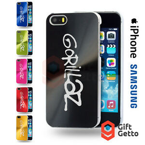 Gorillaz-Music-Band-Vinyl-Logo-Gift-Engraved-CD-Phone-Cover-Case-iPhone-Samsung