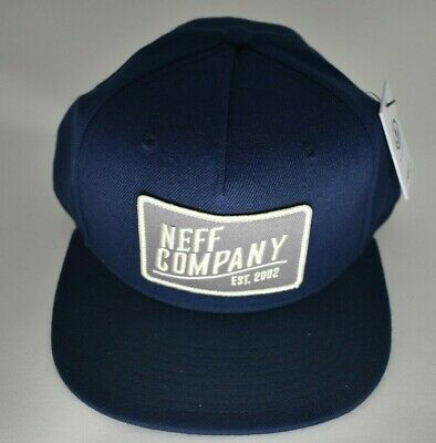 Neff Mens Daily Black//Infrared Snapback Cap Hat New