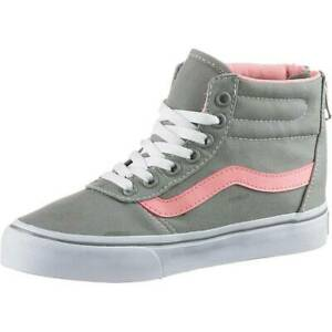 d4db5fc6 Details about Womens Girls Vans Trainers Maddie Hi Zip - 76S016