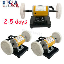 3pcs Dental 3000rpm Polisher Polishing Machine Lathe buffing Table Tool Jewelry
