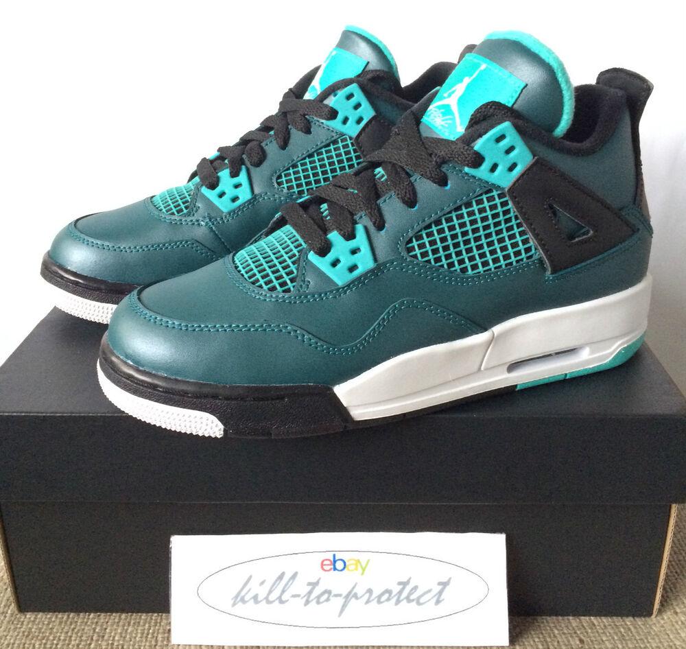 Nike air jordan 4 Sarcelle 30e GS BG Homme  Chaussures de sport pour hommes et femmes