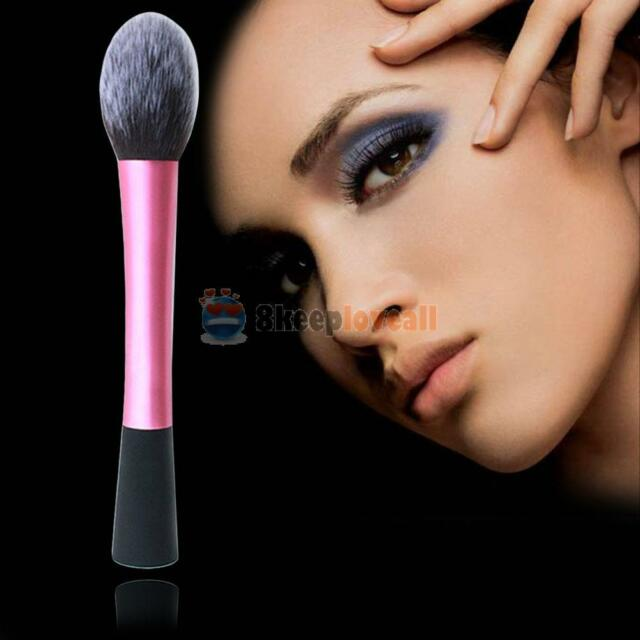 TOP Pro Techniques Powder Cosmetic Makeup Mineral Blush Brush Foundation Stipple