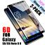 1-2x-6D-Hartglas-fuer-Samsung-Galaxy-S8-S9-Note-9-8-Full-Cover-9H-Schutzglasfolie Indexbild 1