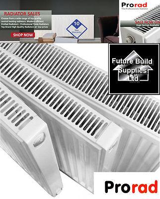 P+ Stelrad Central Heating Radiator Double or Single Panel K1 K2