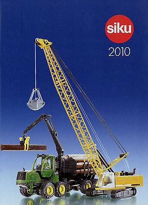 Siku Prospekt 2010 Modellautos Modellautokatalog Klein Catalog Model Cars Eine Lange Historische Stellung Haben