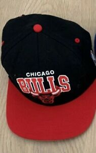 Casquette Snapback Mitchell And Ness Vintage Usa Chicago Bulls NBA basketball