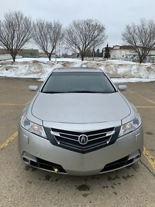 2011 Acura TL SH-AWH(tech package) 2 sets rims+tires