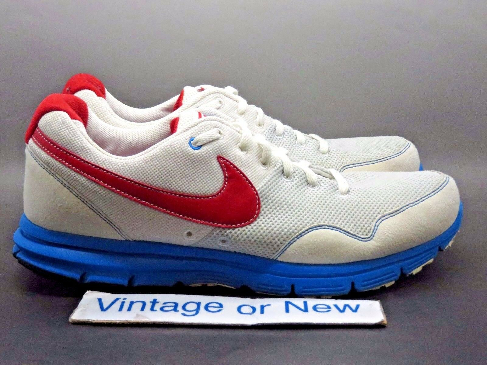 Sample Nike Lunarfly+ USA Track & Field White Sport Red Photo Blue 2018 sz 8.5
