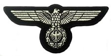 WW2 GERMAN MILITARY EAGLE PATCH WEHRMACHT 3rd REICH ERA STYLE REPRO Aufnäher NEW