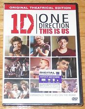 1D One Direction: This is Us (DVD, 2013) Original Theatrical Edition Zayn NEW