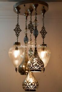 Details About Handcrafted Turkish N Gl Br Pendant Chandelier Moroccan Lamp Light