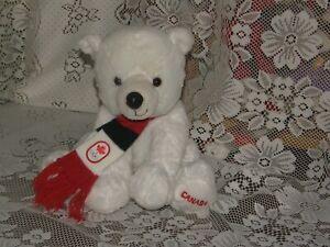 HBC-Plush-Canada-Olympic-Teddy-Bear-White-2014-Sochi-Polar-Bear