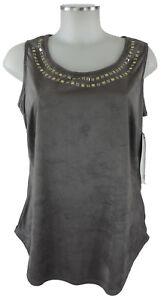 Shirt Gris Haut us Beige Lyman 38 Nouveau daim en 10 Polyester d Frank qap15w