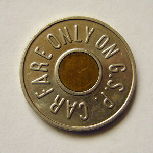 Image is loading GARDEN-STATE-PARKWAY-TOKEN-NJ-NEW-JERSEY-CAR-