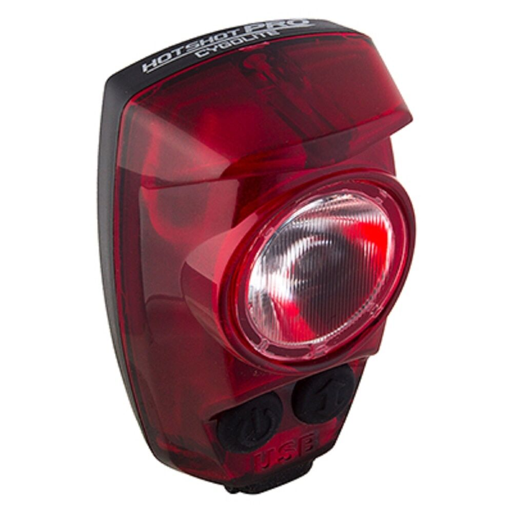 Cygolite Hotshot PRO 150 Lumens Rear Light Bike Safety Daylight  Vision USB  team promotions