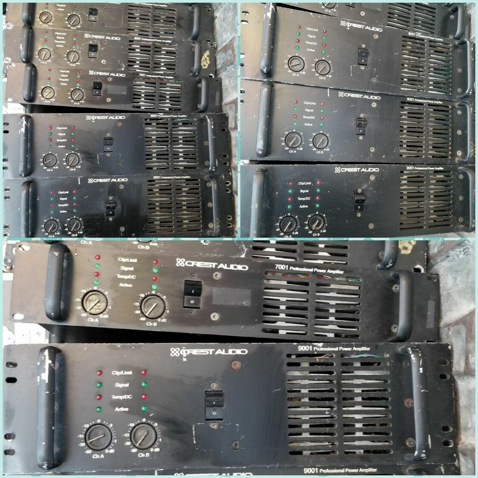 Crest Audio 9001 Power Amplifier 120Volt version