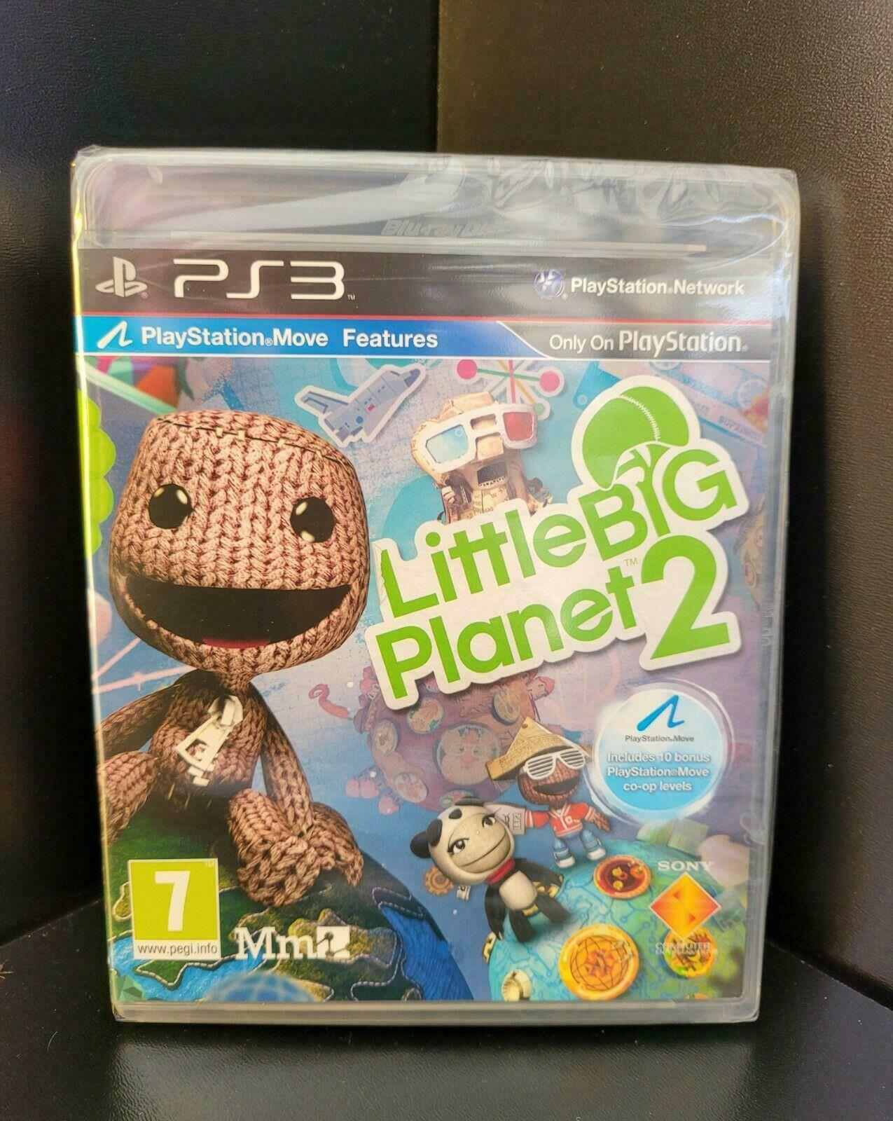 Little big Planet 2 PS3 NEW And Sealed FULL Original UK Version