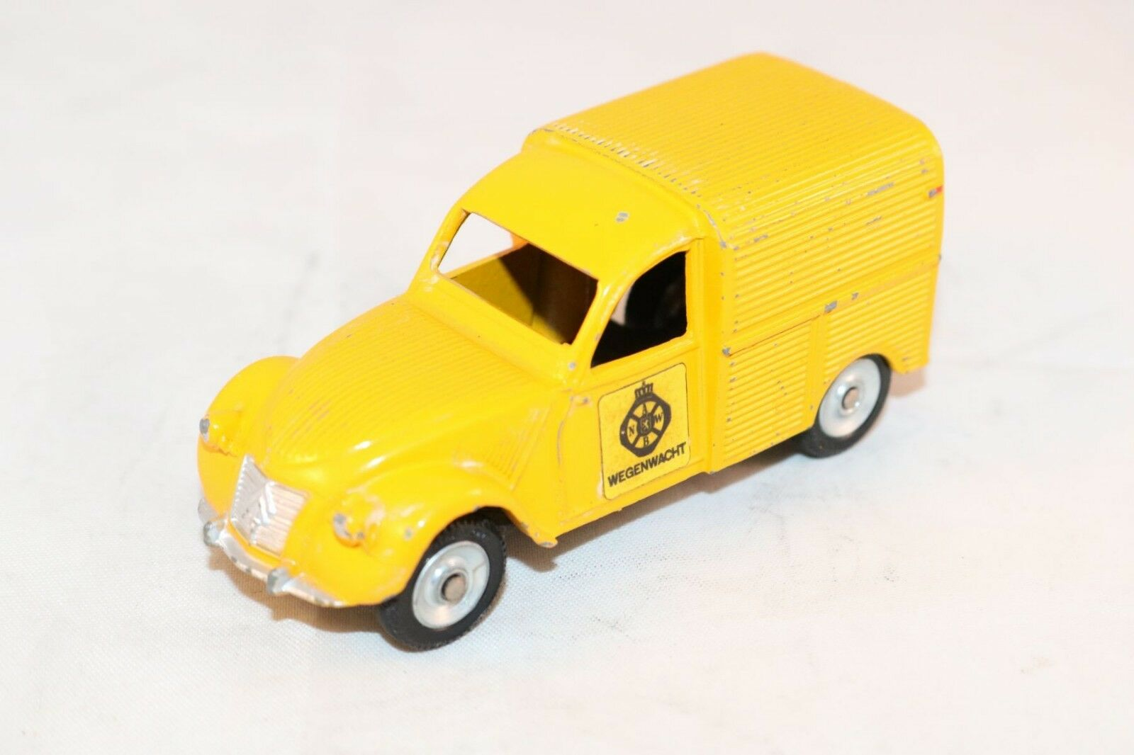 Dinky Toys 562H 562 H Citroen 2 CV ANWB WITH STICKERS NOT STAMP Scarce model