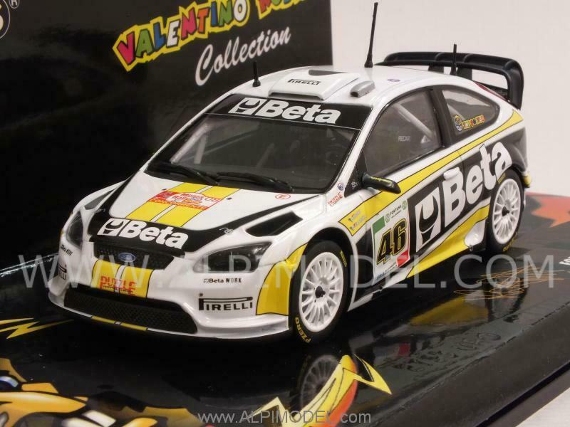 Ford Focus Rally Beta Valentino Rossi Rally Monza 2008 1 43 MINICHAMPS 400088946
