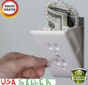 HOT Caja Fuerte De Seguridad Para La PAred Enchufe De Electricidad