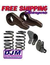 """DJM Suspension 2000-2006 Tahoe Yukon 2-3"""" Drop Kit Key Coil Shock Ext Lowering"""