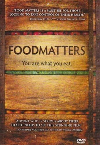 ✅Food Matters - DVD - The Movie - You Are What You Eat