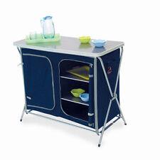 mobiletto da campeggio per cucina 110 x 52 x 90 h mobile dispensa per camping