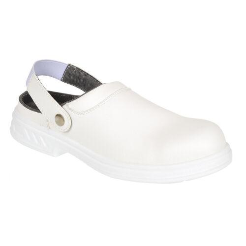 Portwes Steelite Unisex Safety Boots Clogs Steel Toe Cap Anti Slip Shoes FW82