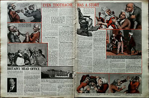 Even-Toothache-Has-A-Story-Illustrated-Article-Everybody-s-Weekly-8th-March-1941