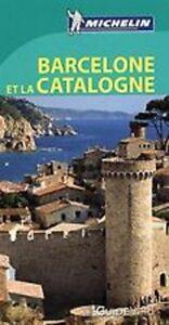 Guide-Vert-Barcelone-et-la-Catalogne-Michelin-NEUF