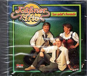 Kaessner-Trio-Los-geht-039-s-Freunde-CD-Album-1998-16-Titel-neu-OVP