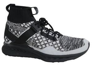 3d4e9a360af8 Puma x Staple Ignite evoKNIT Lace Up Black Mens Hi Textile Trainers ...