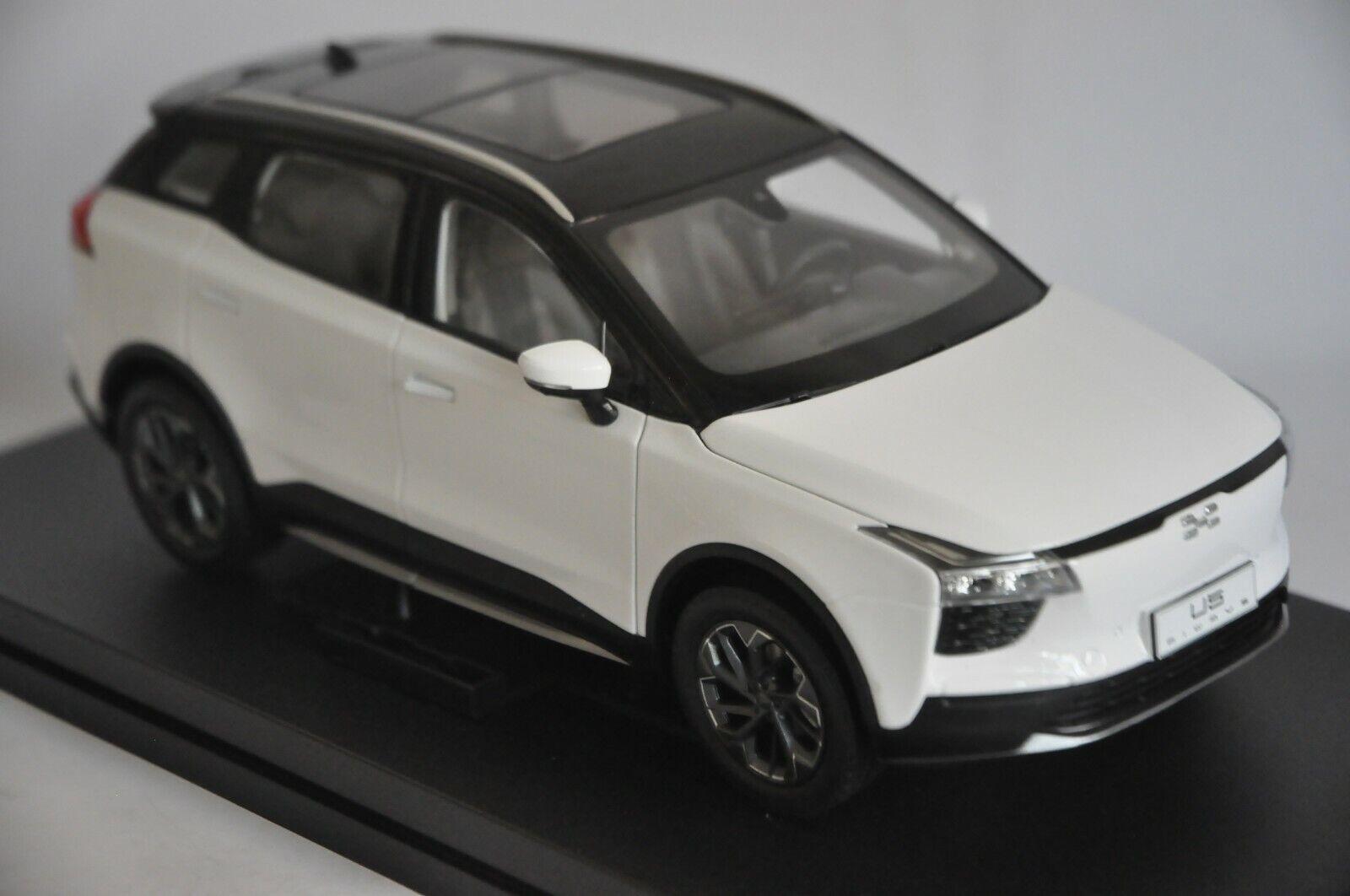 Convinti U5 auto modellololo IN SCALA 1 18 Bianco