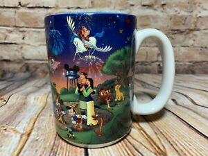 Disney-World-2000-Celebrate-The-Future-Hand-In-Hand-Ceramic-Mug-16-oz-Vintage