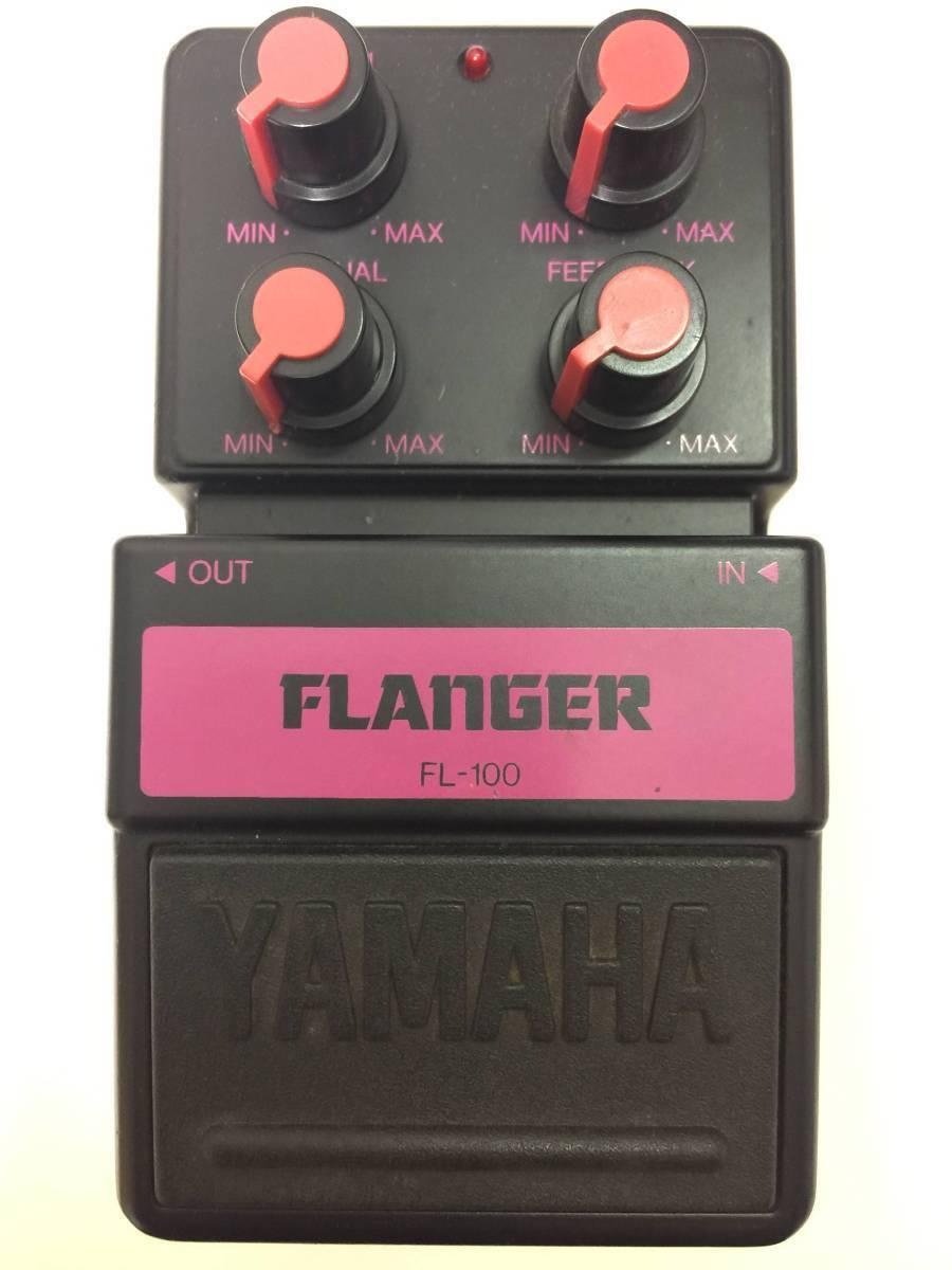 YAMAHA FL100 FLANGER No.07D15 JAPAN EMS FS