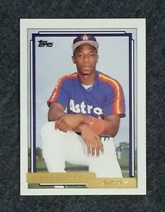 Cleveland-Indians-Kenny-Lofton-1992-Topps-GOLD-PARALLEL-Rookie-Card