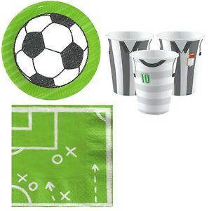 Image is loading Boys-Girls-Football-Themed-Birthday-Party-Celebration-36pc-  sc 1 st  eBay : football tableware - Pezcame.Com