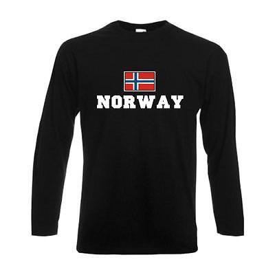 Norway WMS06-44a Ländershirt Fanshirt bedruckt S-5XL T-Shirt NORWEGEN