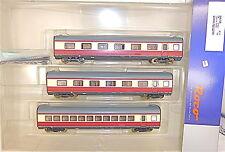 3 Ergänzungswagen Alpen See Express BR 601 VT 11 5 TEE DB Roco 64058 #  µ